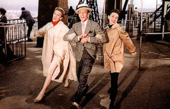 Funny Face movie Audrey Hepburn  Fred Astaire  Kay Thompson  Michel    Funny Face Audrey Hepburn Fred Astaire